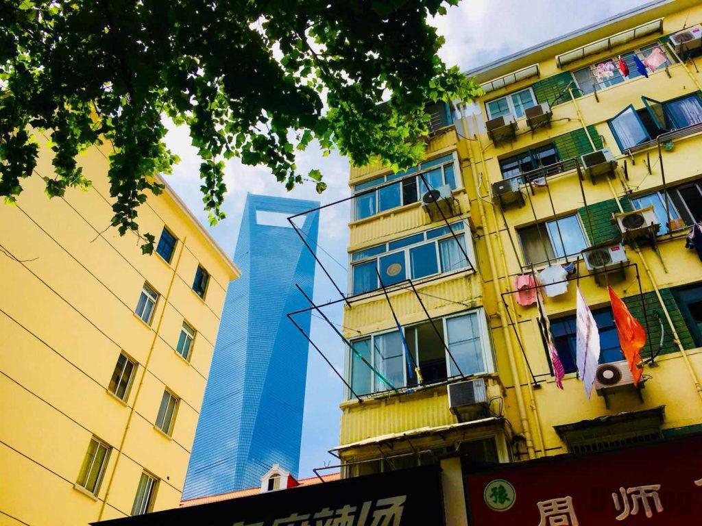 上海東昌路駅前⑨