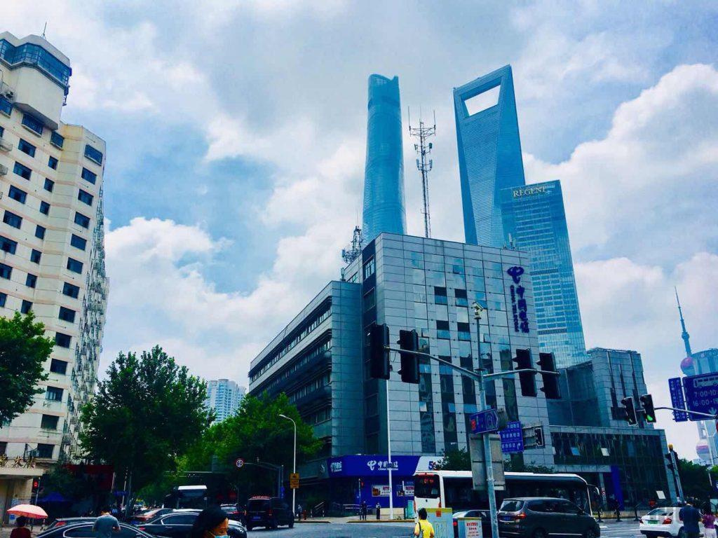 上海東昌路駅前⑤