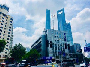 上海東昌路駅付近①