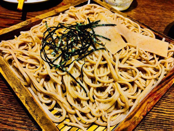 上海萬蔵 蕎麦②