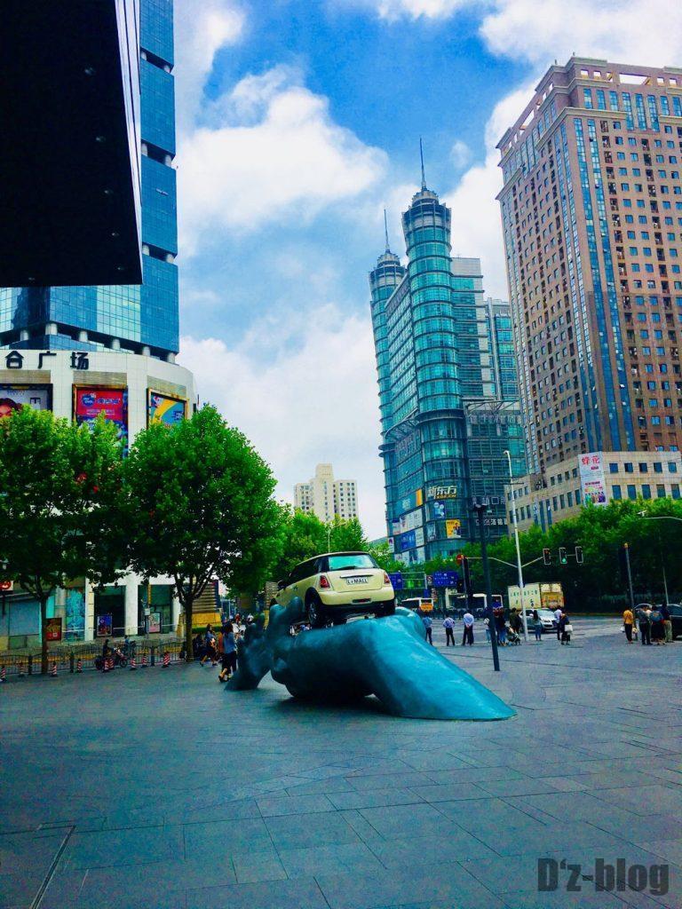 上海東昌路駅前②