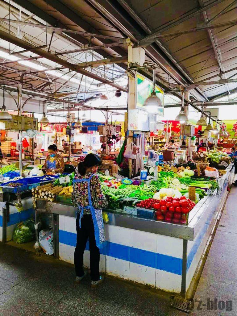 上海野菜市場④