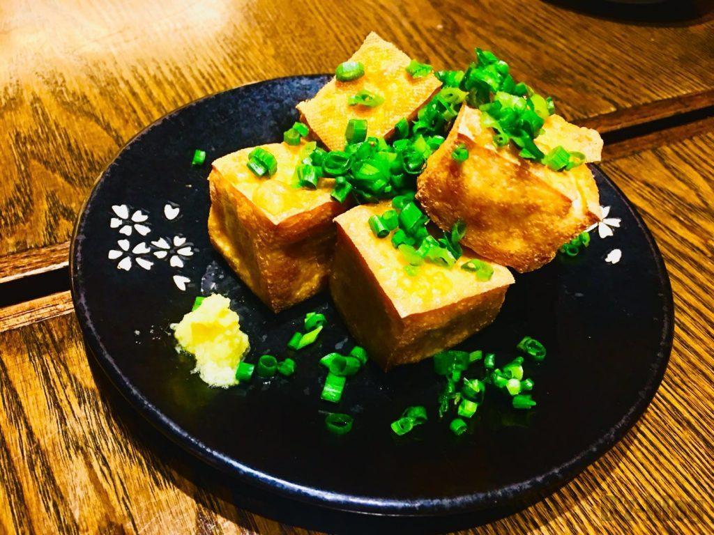上海萬蔵 揚げ出し豆腐