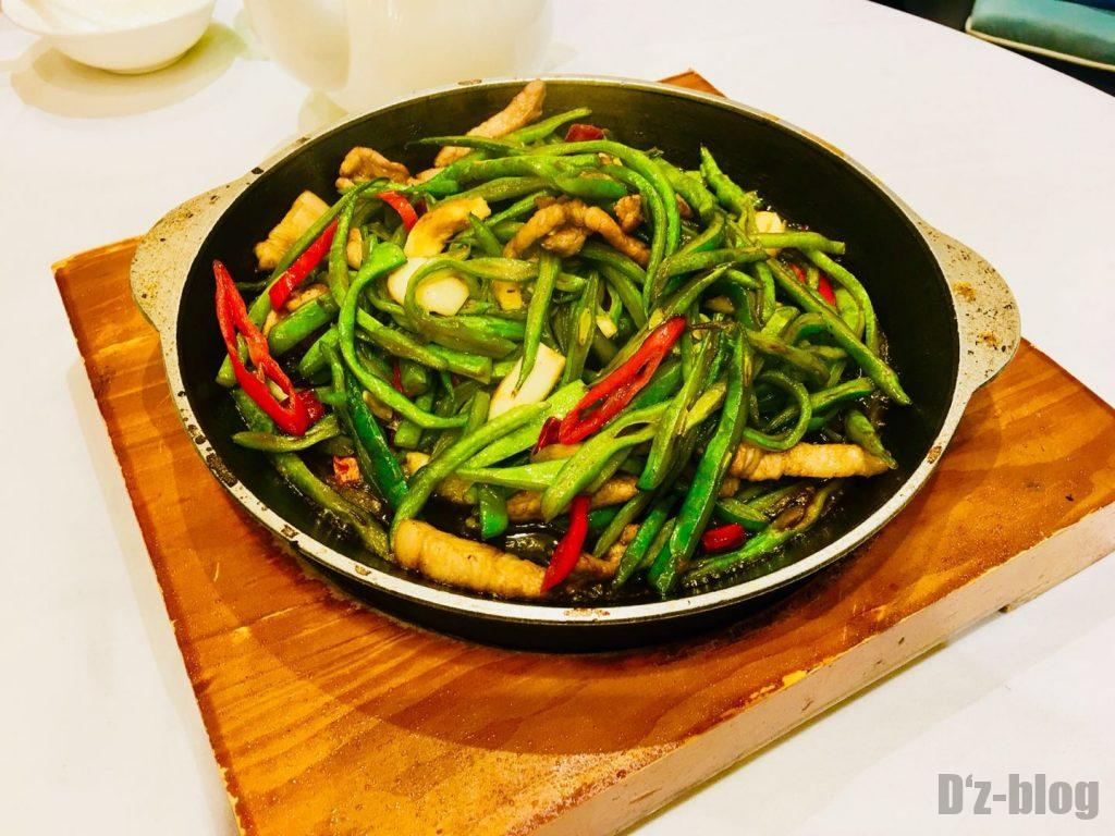 上海亿家一宴 野菜炒め