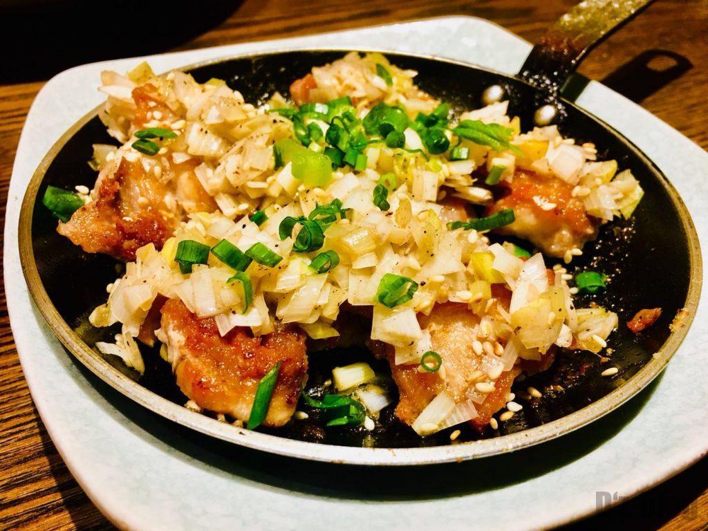 上海萬蔵 鶏肉鉄板