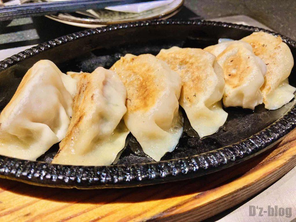 上海花月牛タン餃子