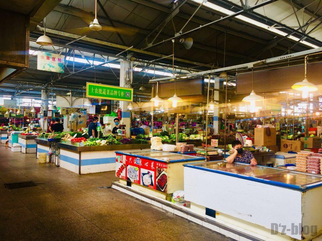 上海野菜市場③