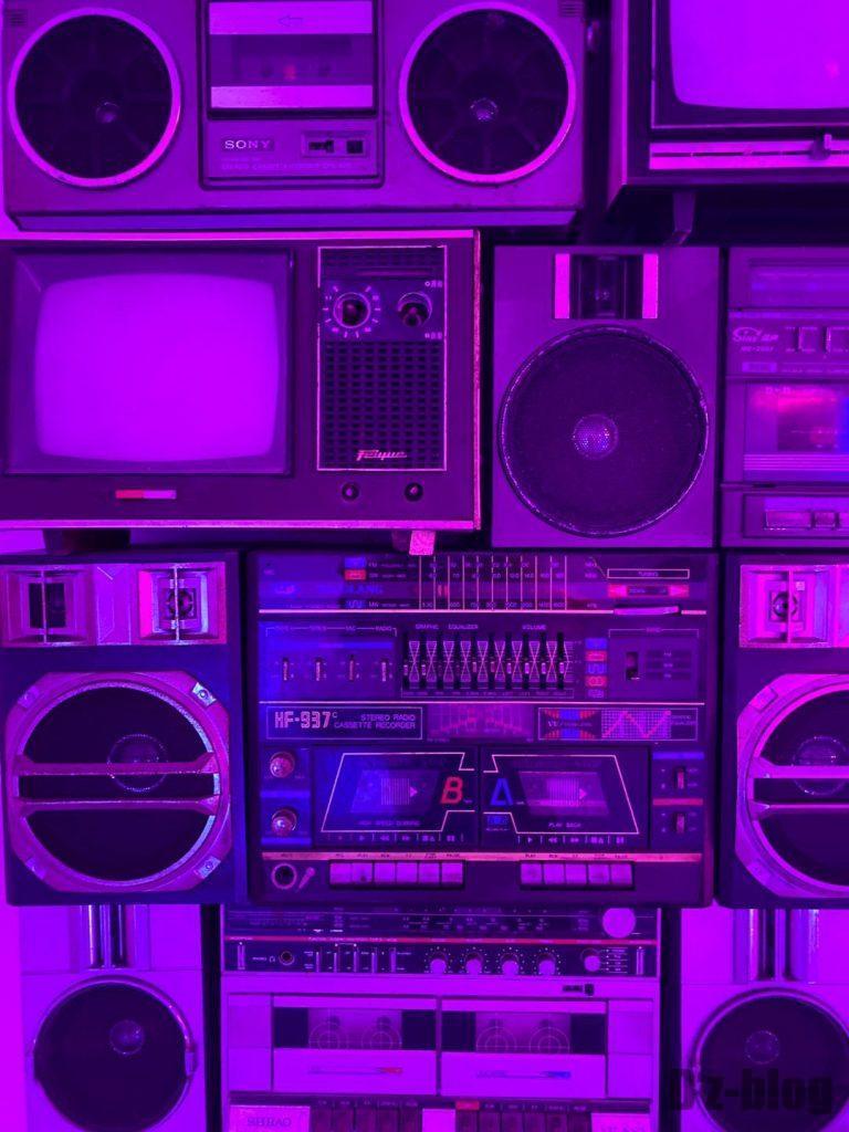 上海80年代博物ラジオ類