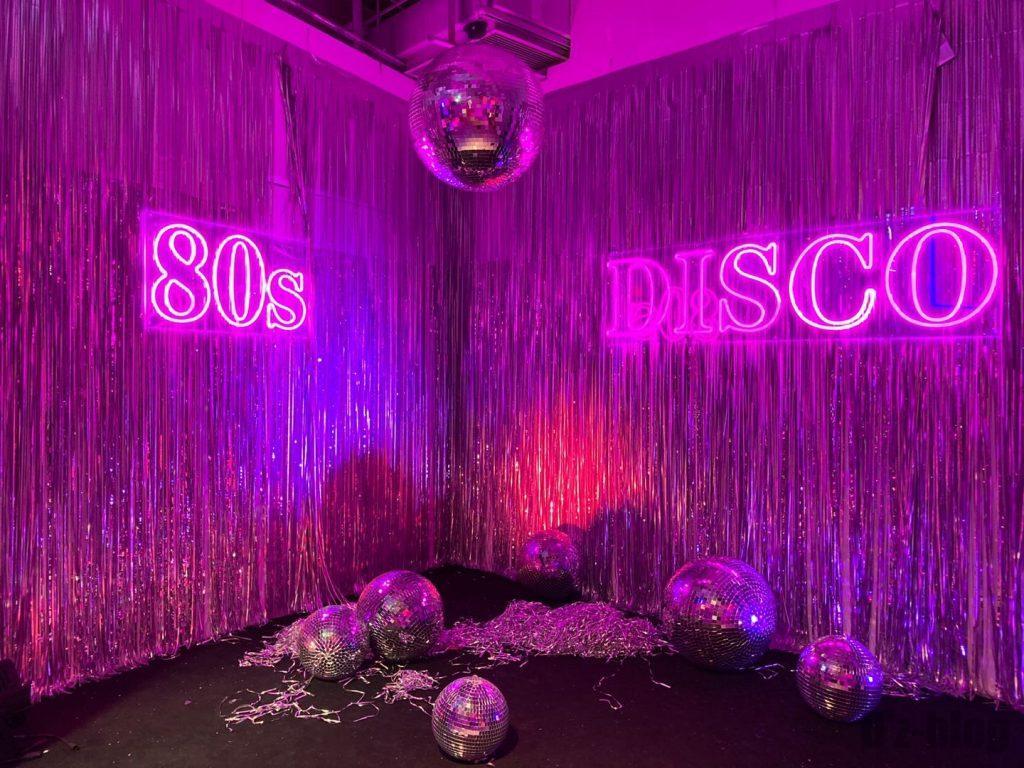 上海80年代博物ディスコ舞台