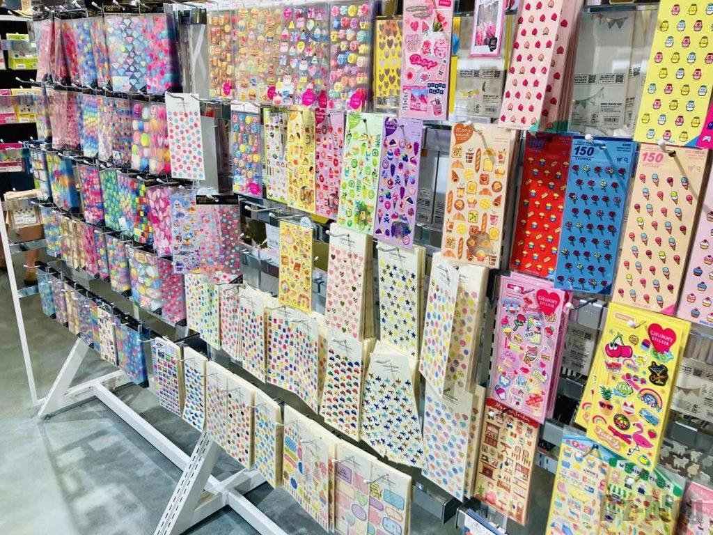 上海ロフト装飾シール