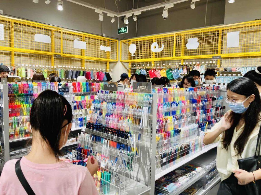 上海ロフト文房具売り場