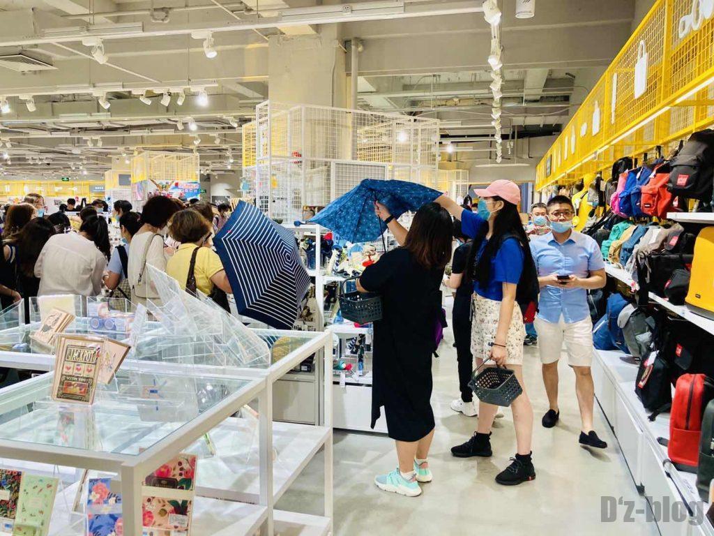 上海ロフト傘売り場