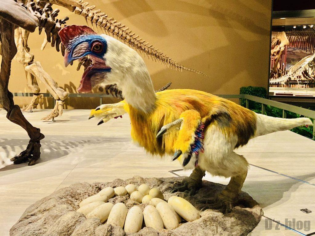 上海自然博物館恐竜再現ロボット