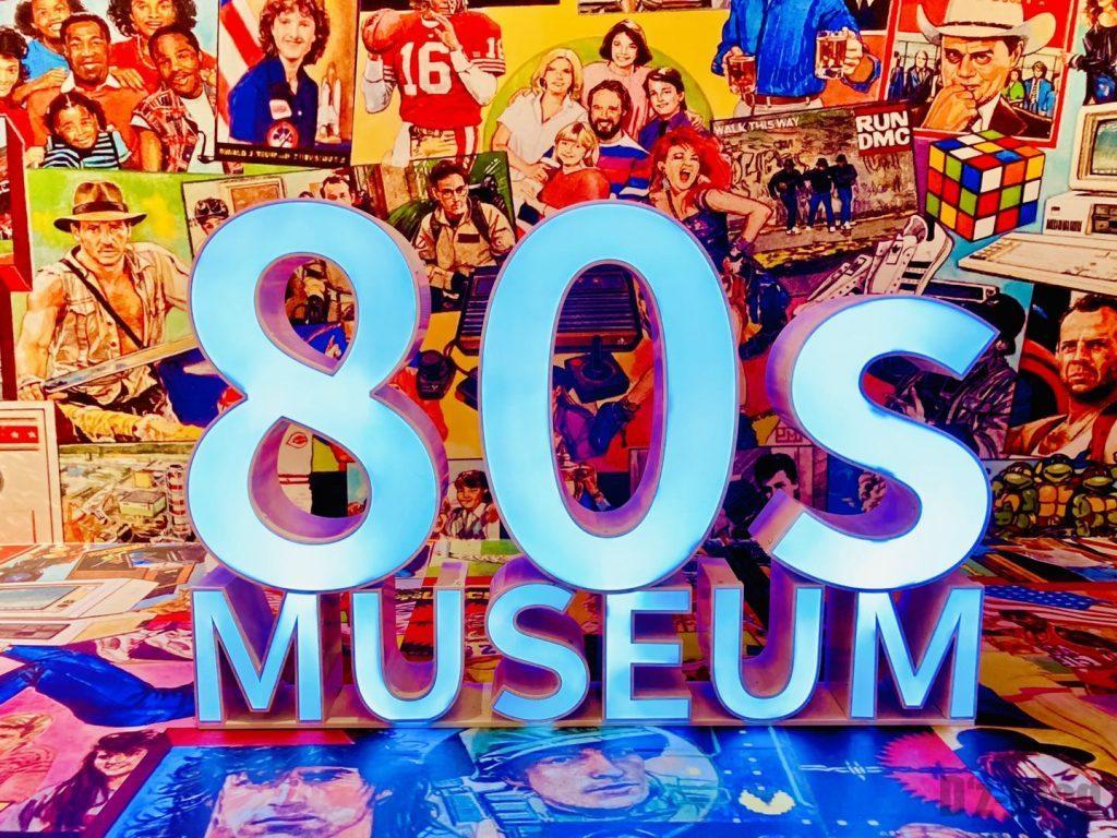上海80年代博物館受付ディスプレイ