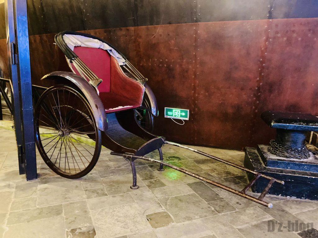 上海1192風情街人力車