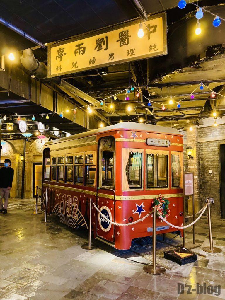 上海1192風情街電車