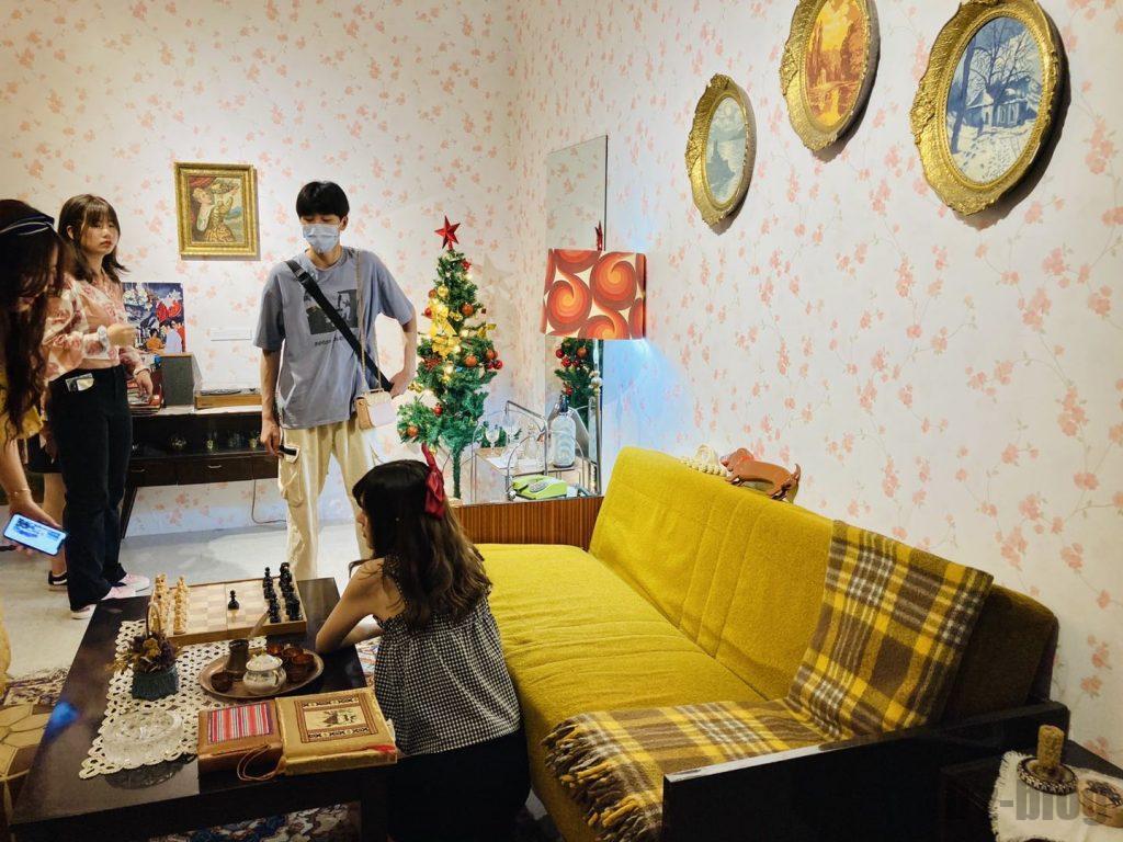 上海80年代博物プライベートルームディズプレイ