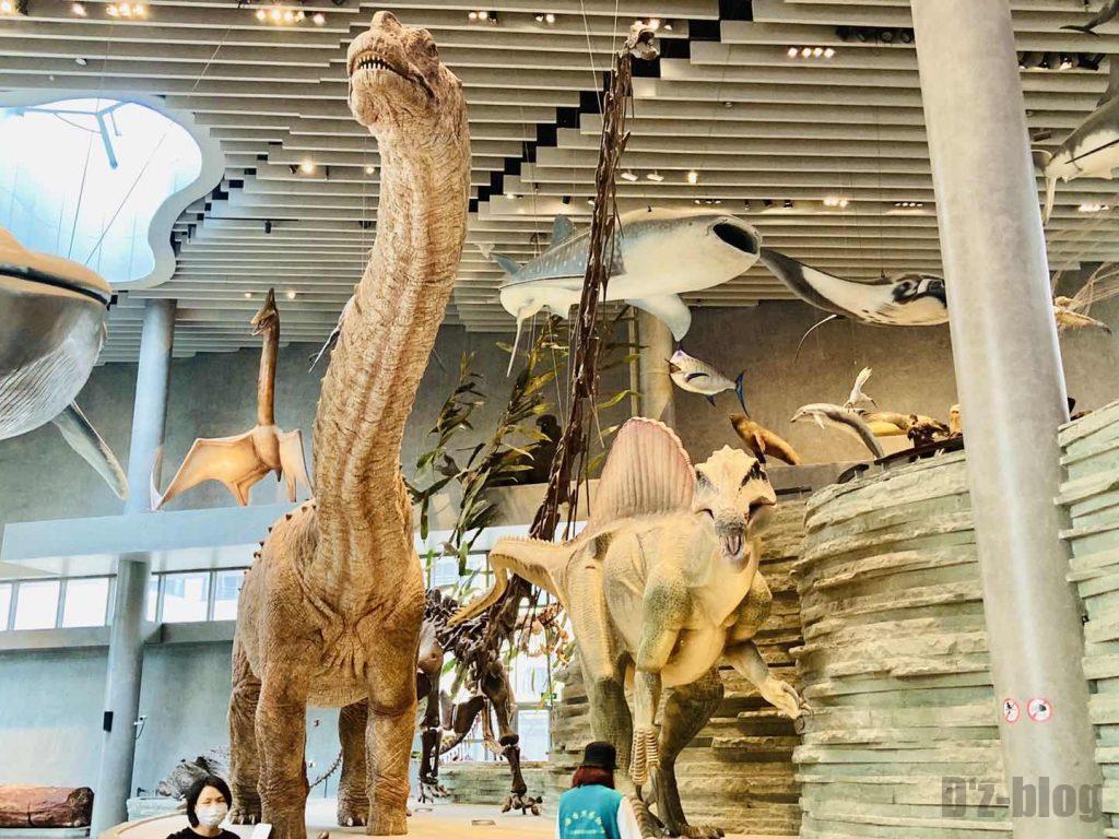 上海自然博物館巨大恐竜モデル