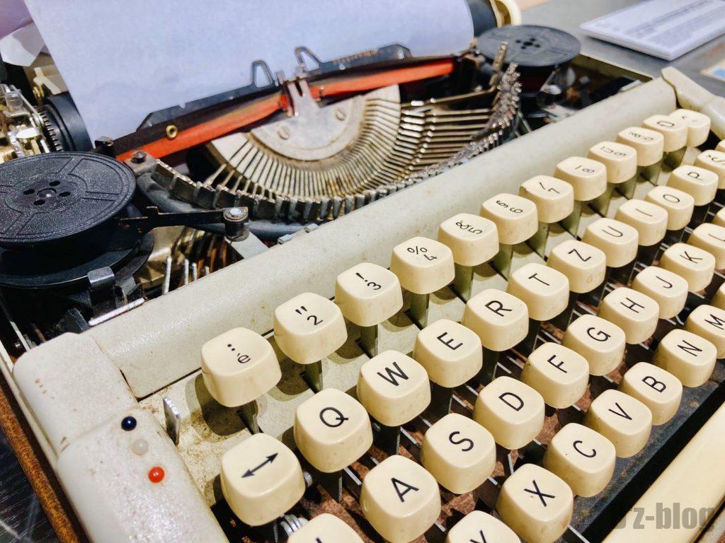 上海80年代博物館印字機1