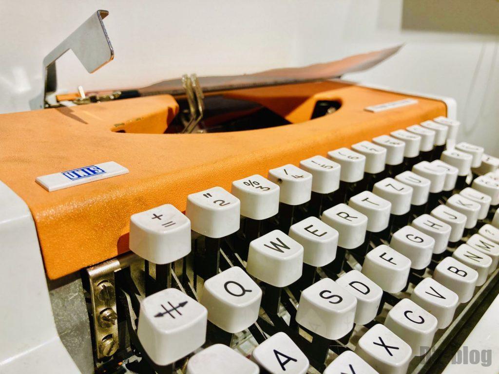 上海80年代博物館印字機