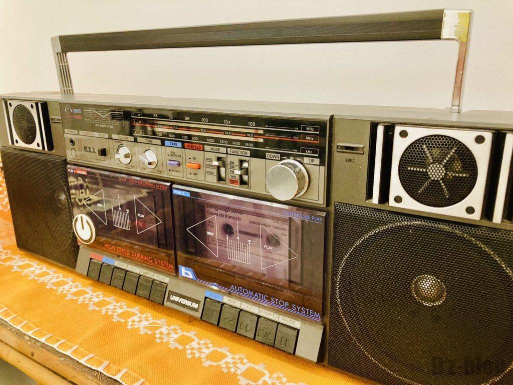 上海80年代博物館ラジオ