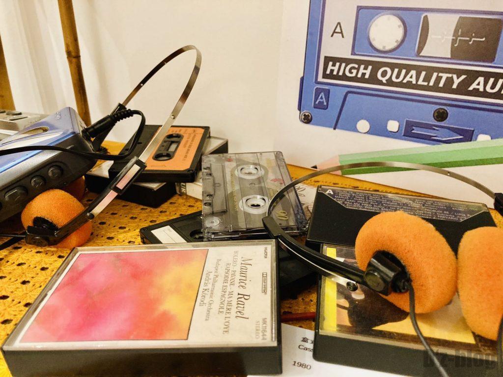 上海80年代博物館カセットテープ
