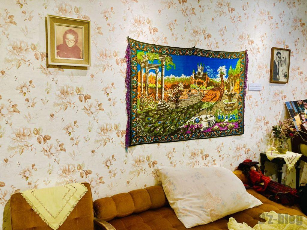 上海80年代博物館寝室ベット