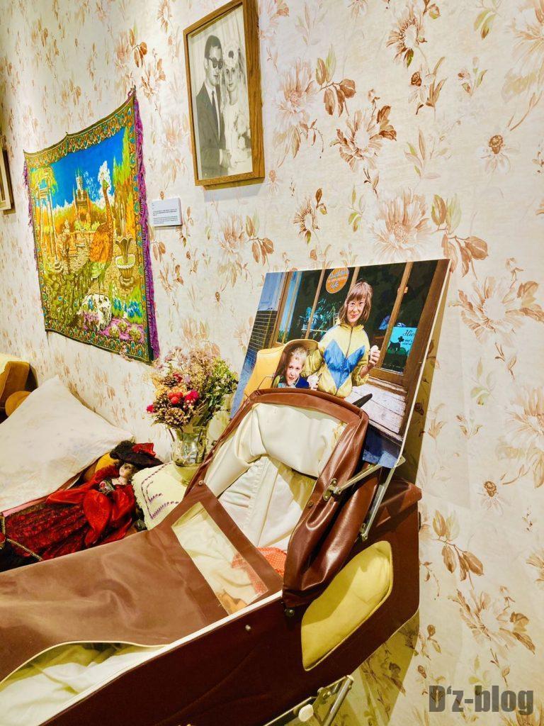 上海80年代博物館寝室