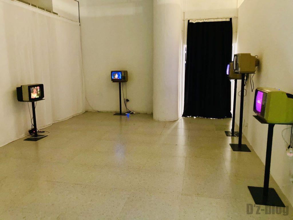 上海80年代博物館アナログテレビ
