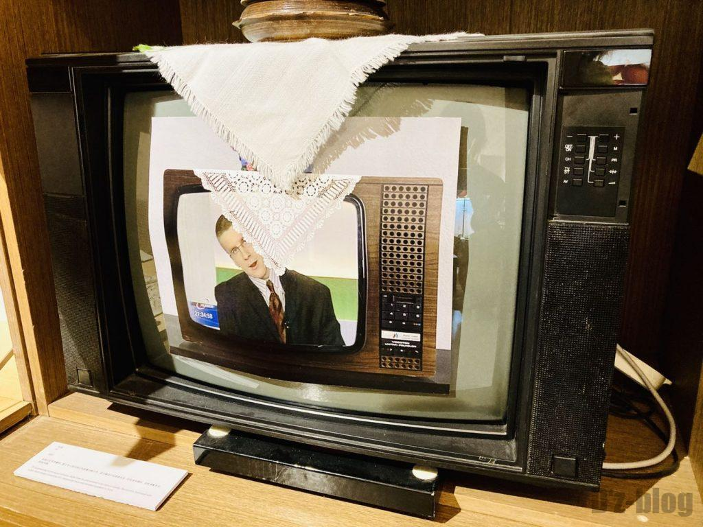 上海80年代博物館テレビ画面イメージ映像