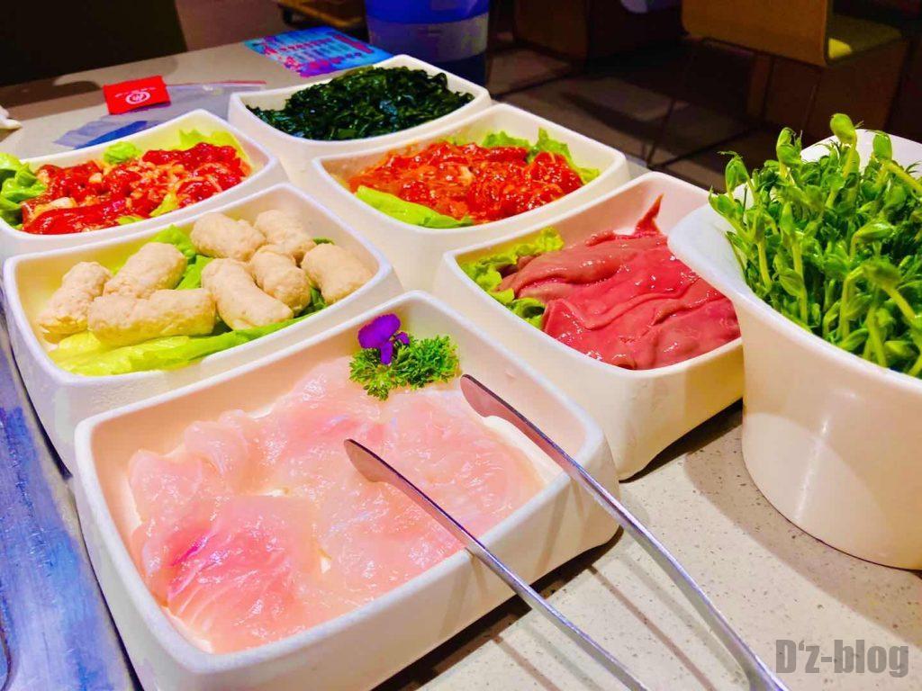 上海海底捞火鍋材料