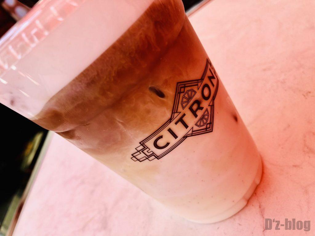 上海安福路チキンエッグ店コーヒー