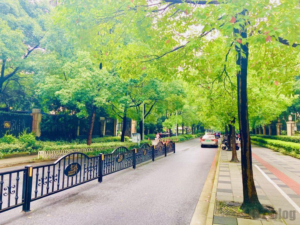 上海黄金城道までの道中