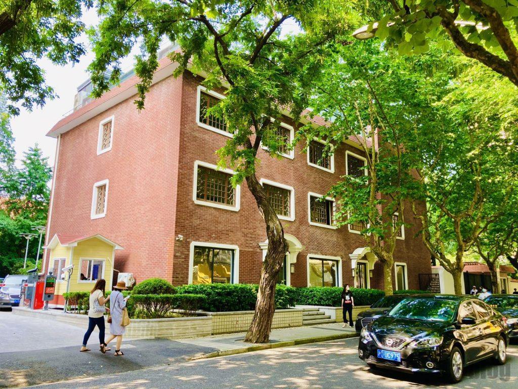 上海安福路並木道の建物3