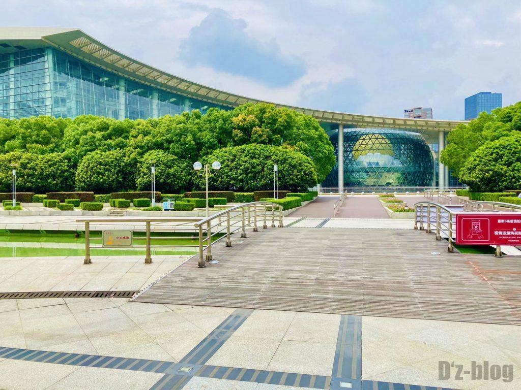 上海科技館全体