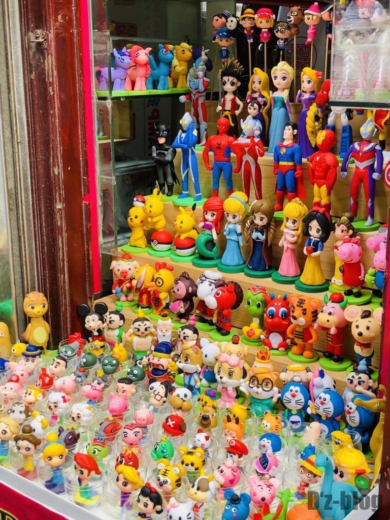 上海豫园お姫様人形