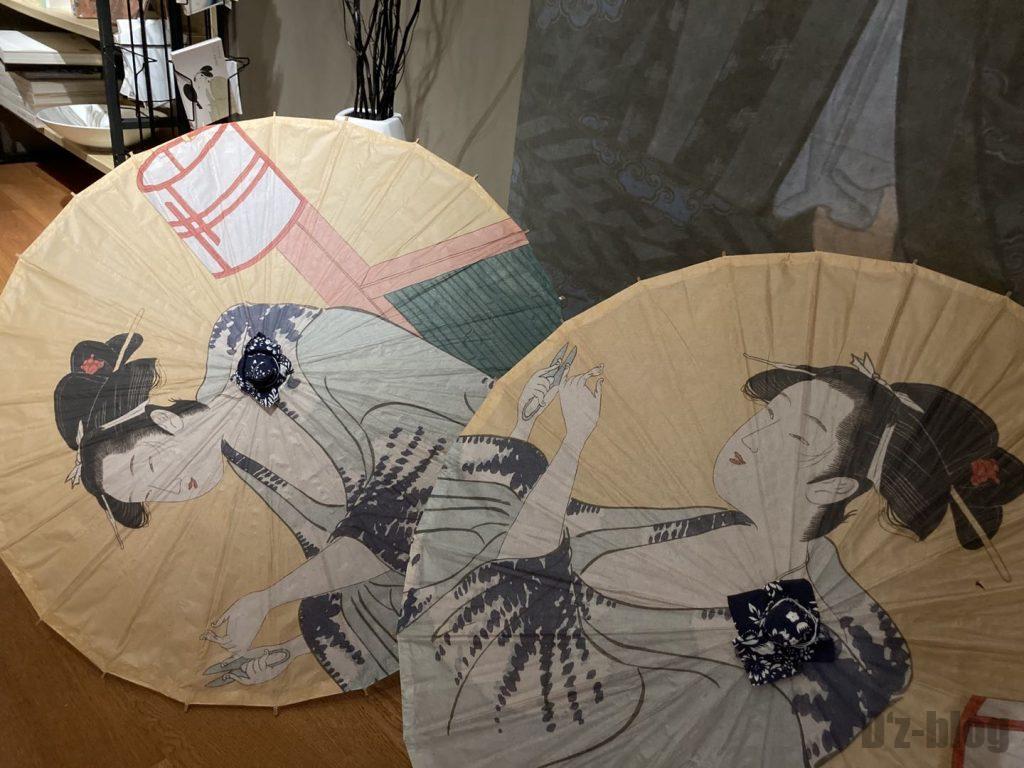 上海浮世絵お土産傘