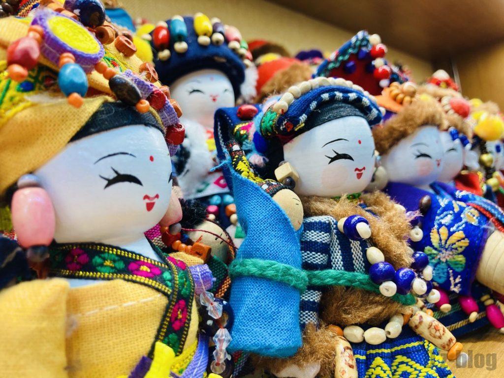上海豫园人形
