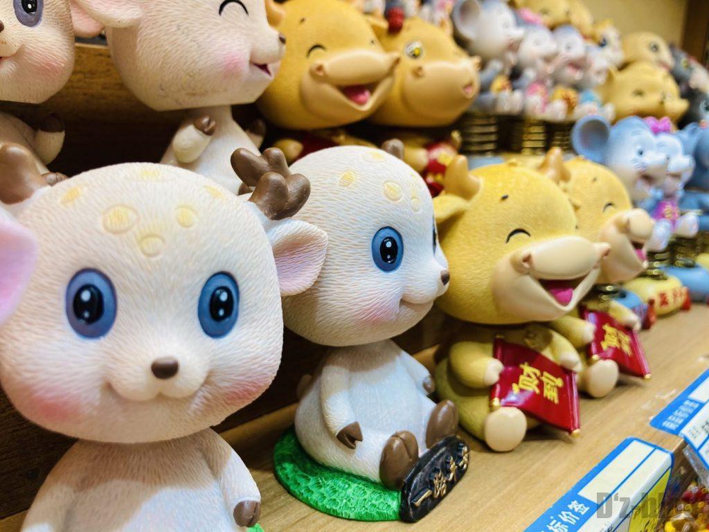 上海豫园鹿人形