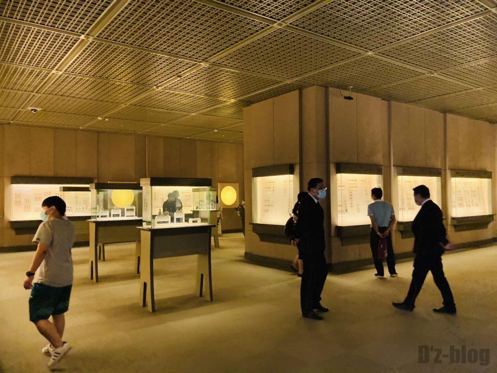 上海博物館貨幣館館内