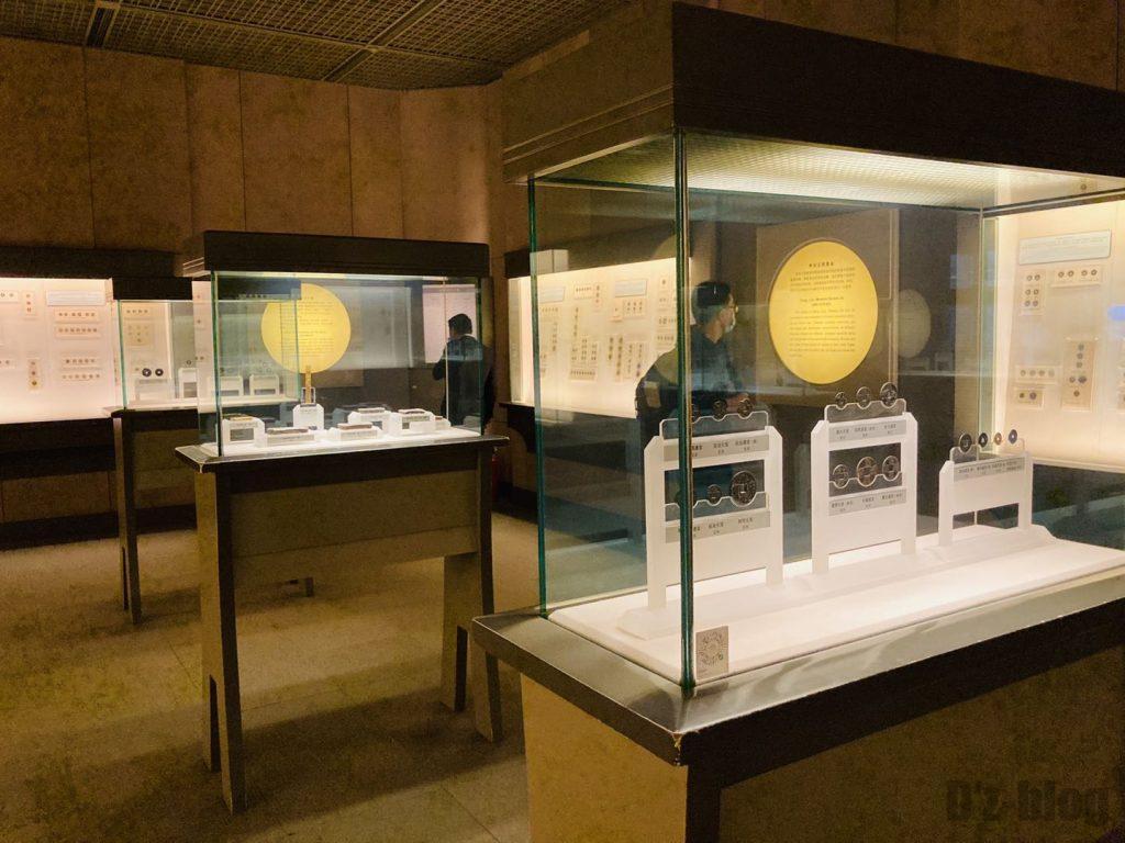 上海博物館貨幣陳列