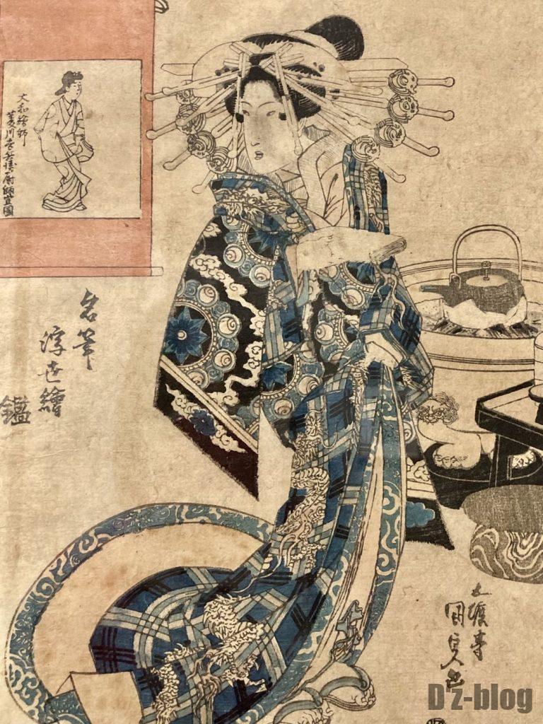 上海浮世絵女性