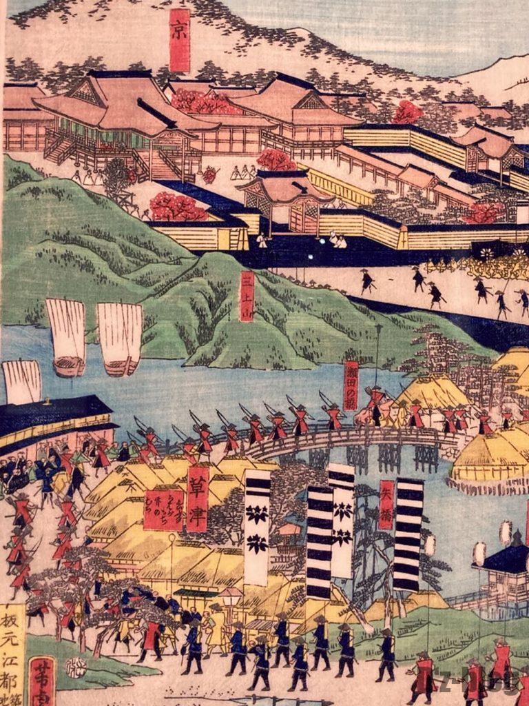 上海浮世絵京の町