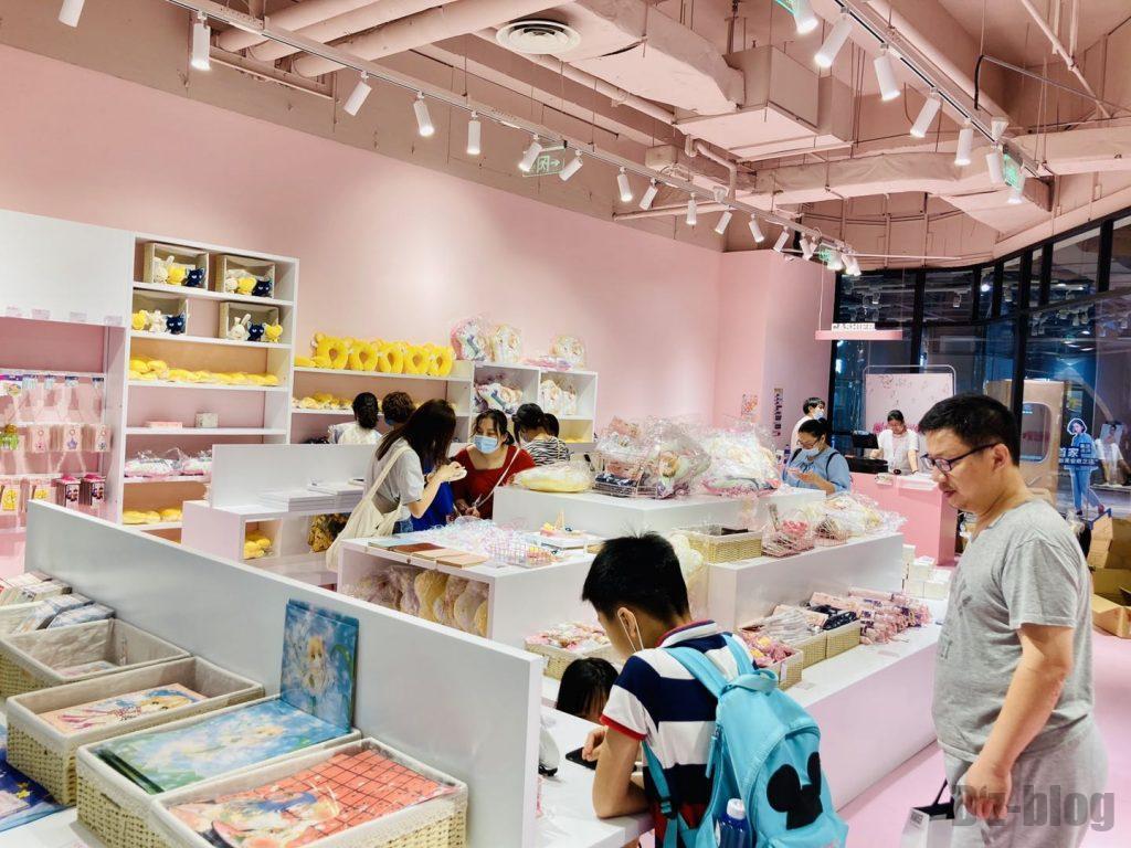 上海大悦城カードキャプター・さくら商品陳列
