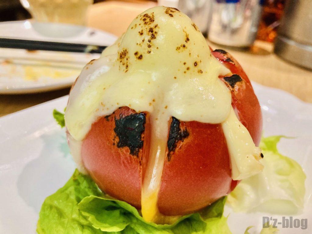 上海ビッテロチーズ乗せトマト