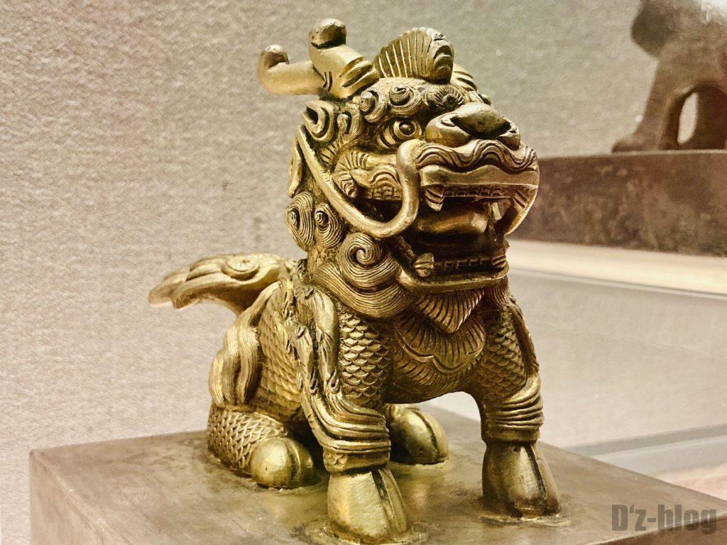 上海博物館ハンコ取っ手部分
