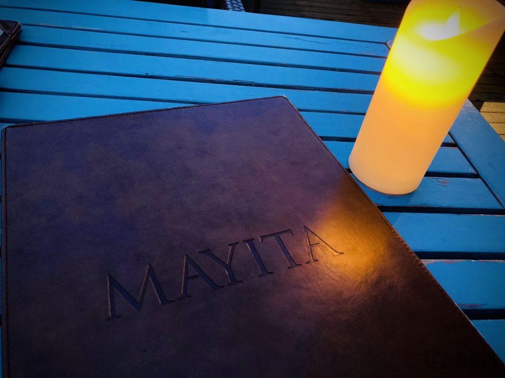 上海メキシコ料理MAYITAメニュー表紙