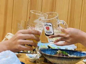 上海おもてなし 乾杯
