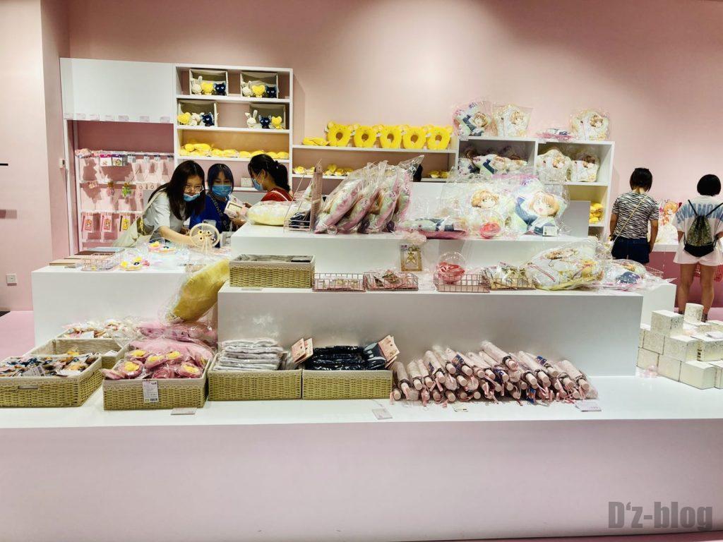 上海大悦城カードキャプター・さくら陳列商品全体