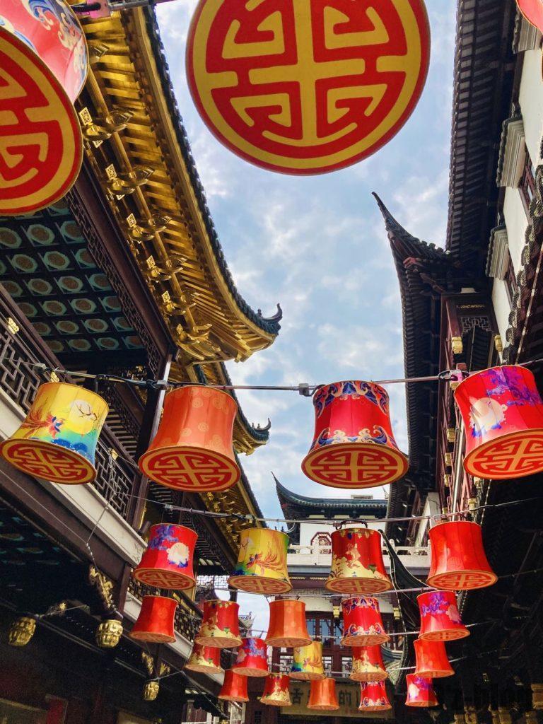 上海豫园 装飾